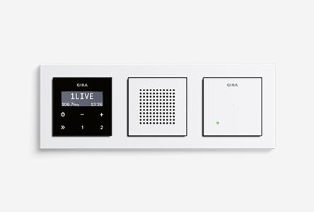 test das gira unterputz radio. Black Bedroom Furniture Sets. Home Design Ideas
