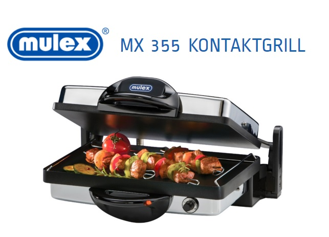 test und gewinnspiel der mulex mx 355 kontaktgrill. Black Bedroom Furniture Sets. Home Design Ideas