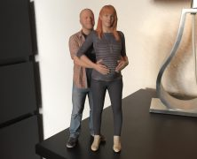 3D Generation – Wir als 3D Figur