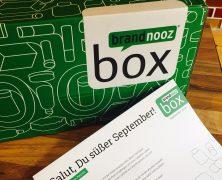 "Die Brandnooz Box ""Salut, Du süßer September"""